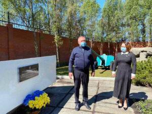 Гостомель вшанував пам'ять загиблих у Другій світовій війні