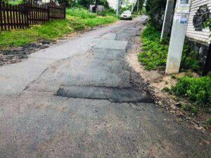 В Гостомелі капітально ремонтують дороги