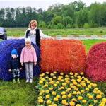 В Ірпені створили квіткову композицію на набережній